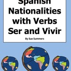 Spanish Speaking Countries and Nationalities with Verbs Se