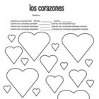Spanish Valentine Hearts