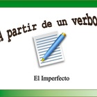 Spanish Verb Form Practice with Sentences: The Imperfect