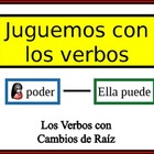 Spanish Verb Form Writing Practice Activity: Stem-Changing Verbs
