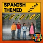 Spanish Vocab Lists for Preschool, Elementary, Middle Scho