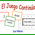 Spanish Vocabulary Activity for Groups: Telling time