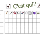 Speaking Activity with Class Objects in French - Involves