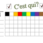 Speaking Activity with Colors in French - Involves Entire Class
