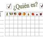 Speaking Activity with Fruit in Spanish - Involves Entire Class