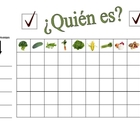 Speaking Activity with Vegetables in Spanish - Involves En