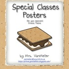 Special Classes Posters- Camping Theme