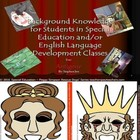 Special Education & ELD Background Knowledge Powerpoint for Teaching Antigone