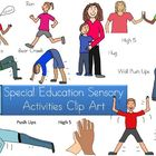Special Education Sensory Activities Clip Art