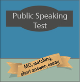 Public Speaking Test