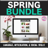 Speech Therapy Spring Language & Articulation Packet