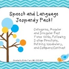 Speech and Language Jeopardy