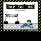 Speedy Race Math