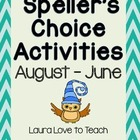 Speller's Choice Printables (Owl Themed)