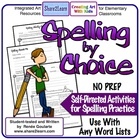 Spelling By Choice - Kid-Friendly Spelling Activity Choices