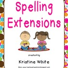 Spelling Centers for Word Study
