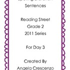 Spelling Dictation Reading Street Grade 2 2011 & 2013 Series