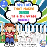 Spelling Lists That Make Sense Combo Pack-First and Second Grade