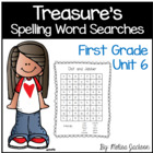 Spelling Word Searches Unit 6 Macmillan/McGraw-Hill Treasu