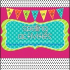 Spelling Word Work Activities Galore! {40+ activities for