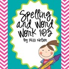 Spelling and Word Word 103