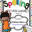 Spelling for Little Learners Part 1