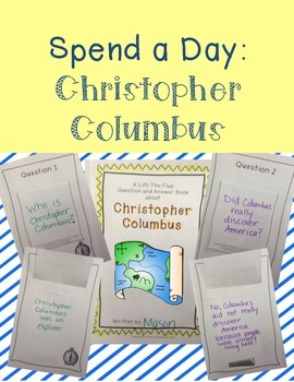 Christopher Columbus - Create a Question and Answer Book a