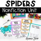 Spider Math and Literacy Activities