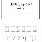 Spider, Spider Math Book