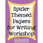 Spider Themed Paper ~ Freebie