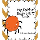 Spider body part lesson