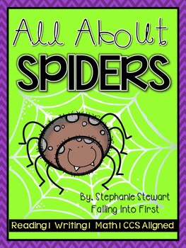 Spiders {Spider Unit Non-Fiction}