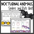 Spiders and Bats {A Spooky Unit}