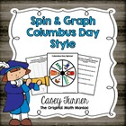 Spin & Graph: Columbus Day (Bar Graph, Tally Chart, Line P