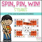 Spin, Pin, Win! ~ Syllables ~