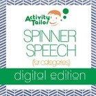 Spinner Speech for Categories (digital edition)
