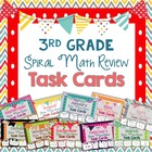 Spiral Math Review Task Cards- Bundle