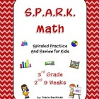 Spiraled STAAR/CCSS Math Review for 3rd Grade - 2nd 9 Weeks