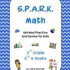 Spiraled STAAR/CCSS Math Review for 3rd Grade - 3rd 9 Weeks