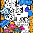 Splish Splash Solutions ~ Spring Math Printables Color By