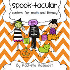 Spook-tacular Halloween Centers for Math and Literacy