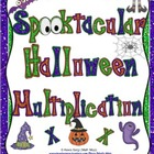Spooktacular Halloween Multiplication