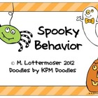Spooky Behavior Management Coloring Mini-Pack
