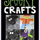 Spooky Crafts and Writing Activities {Bat, Spider, Monster