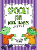 Spooky Fun Dolch Phrases {Lists 7 and 8}