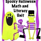 Spooky Halloween Common Core Math and Literacy Unit