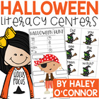 Boo! Fun Halloween Literacy Stations