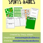 Sports Games for Common Core: Mental Math, Counting, Addit