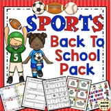 Sports Theme Classroom Back To School Mega Pack