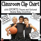 Behavior Clip Chart with Sports Theme and Beanie Incentive